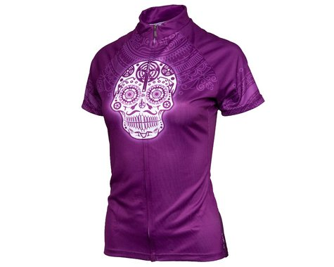 Performance Women's Cycling Jersey (Los Muertos) (L)