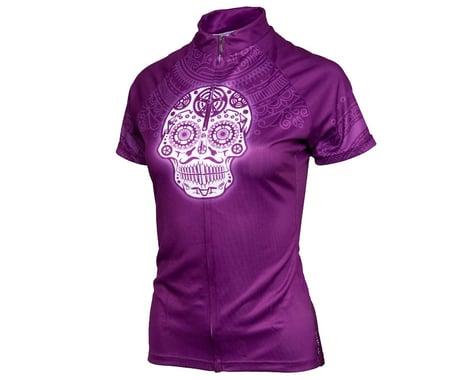 Performance Women's Short Sleeve Jersey (Los Muertos) (XL)