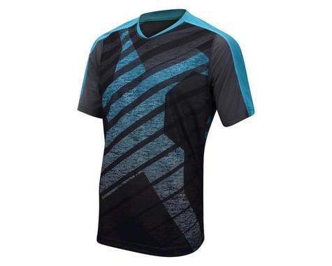Performance Bandit Mountain Bike Short Sleeve Jersey - 2017 (Blue/Carbon) (Xxxlarge)