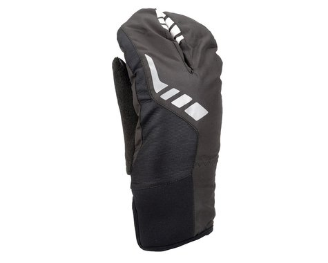 Performance Tok Weatherproof Split Finger Gloves (Black) (Xxlarge)