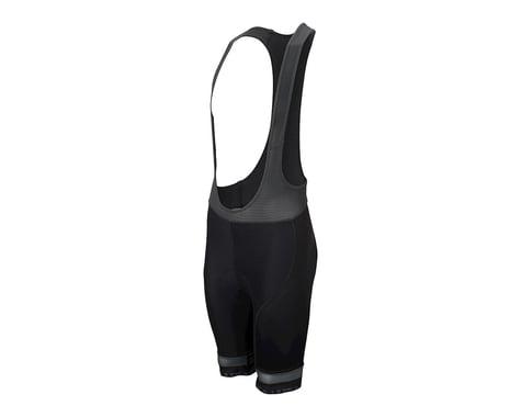 Performance Ultra Bib Shorts (Black/Charcoal) (XL)