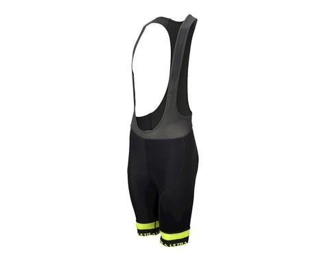 Performance Ultra Bib Shorts (Black/Yellow) (XL)