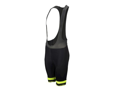 Performance Ultra Bib Shorts (Black/Yellow) (3XL)