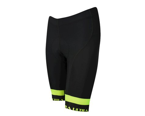 Performance Ultra Shorts (Black/Yellow) (2XL)