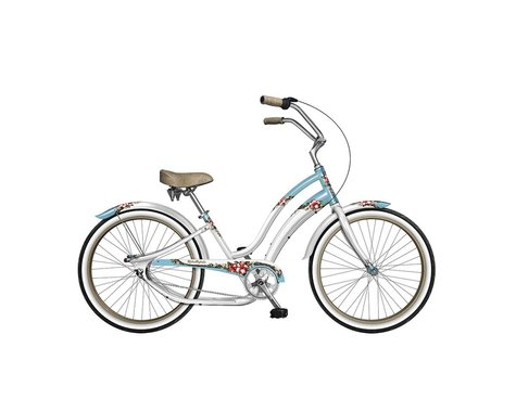 Phat Cycles Aloha Mahalo 3-Speed Step-Through Beach Cruiser - 2017 (White)