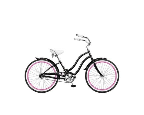 Phat Cycles Sachi 24 Girl's Beach Cruiser -- Single Speed (Black)