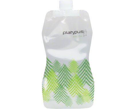 Platypus SoftBottle Water Bottle w/ Closure Cap (Trees) (32oz)