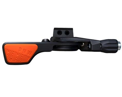 PNW Components Loam Lever Dropper Post Lever Kit (Black/Orange) (31.8mm Clamp)
