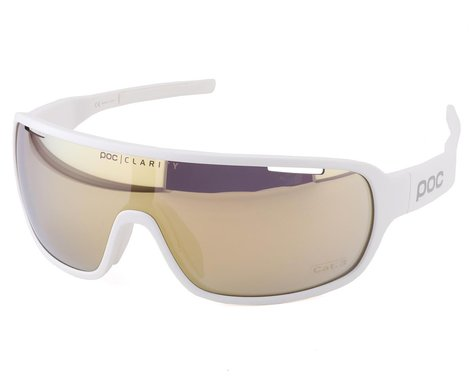 POC Do Blade Sunglasses (Hydrogen White) (Gold Mirror Lens)