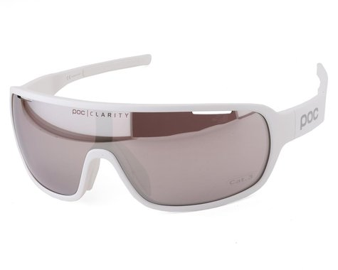 POC Do Blade Sunglasses (Hydrogen White) (Silver Mirror Lens)