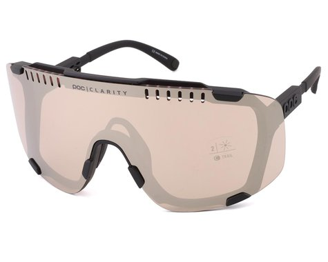 POC Devour Sunglasses (Uranium Black) (BSM)