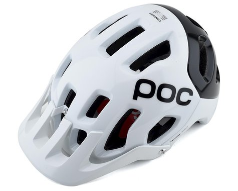 POC Tectal Race SPIN Helmet (Hydrogen White/Uranium Black) (M/L)