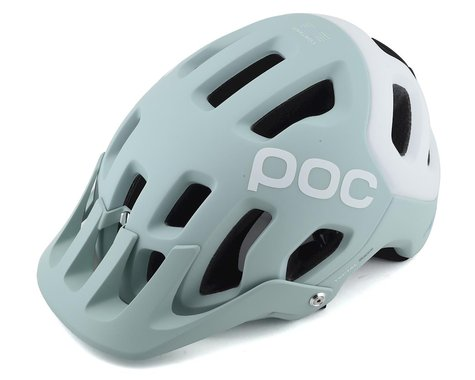 POC Tectal Race SPIN Helmet (Apophyllite Green/Hydrogen White Matte)