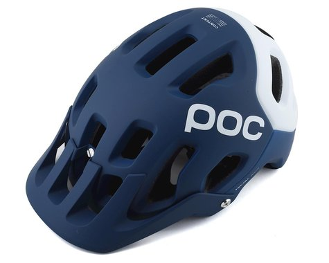 Poc Tectal Race SPIN Helmet (Lead Blue/Hydrogen White Matt) (XL/XXL)