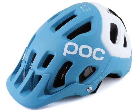 POC Tectal Race SPIN Helmet (Basalt Blue/Hydrogen White Matte) (XS/S)