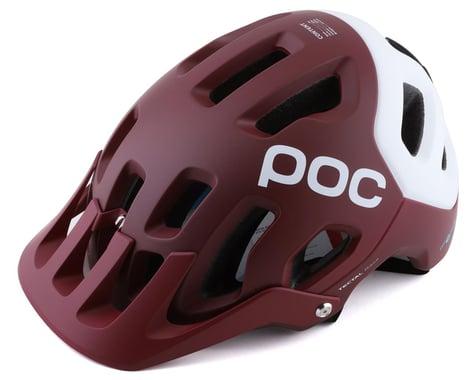 POC Tectal Race SPIN Helmet (Propylene Red/Hydrogen White Matte) (M/L)