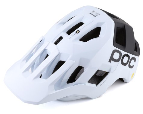 POC Kortal Race MIPS Helmet (Hydrogen White/Uranium Matte Black) (M)