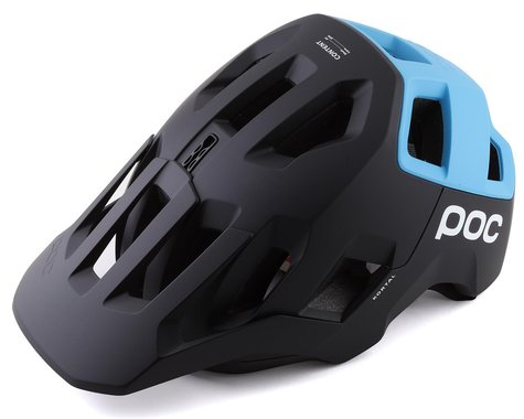 POC Kortal Helmet (Uranium Matte Black/Basalt Blue) (M)