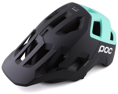 POC Kortal Helmet (Uranium Black/Fluorite Green Matte) (S)