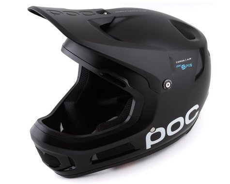 POC Coron Air SPIN Full-Face Helmet (Uranium Black) (XL/XXL)