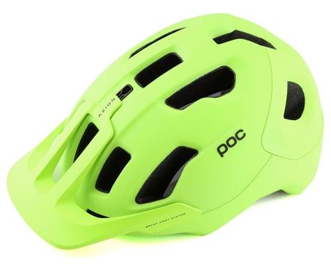 POC Axion SPIN Helmet (Flo Yellow/Green Matte) (XS/S)