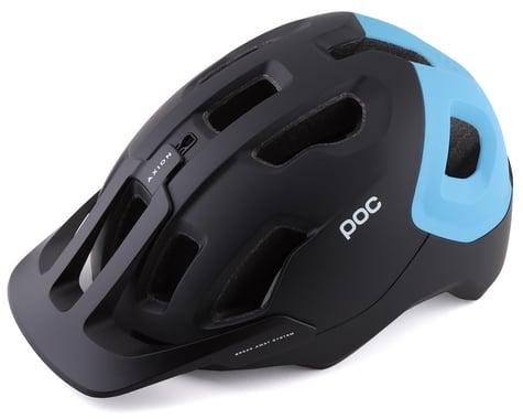 POC Axion SPIN Helmet (Uranium Black/Basalt Blue Matte) (M/L)