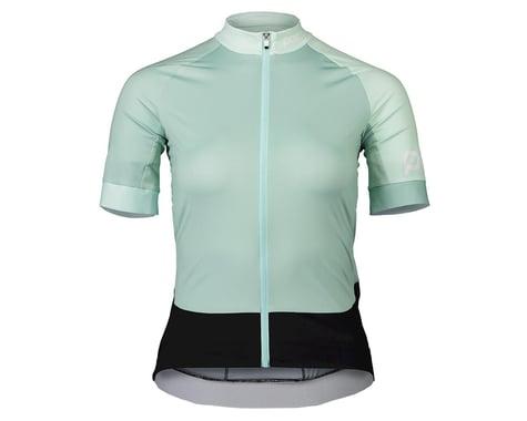 POC Women's Essential Road Short Sleeve Jersey (Apophyllite Multi Green)