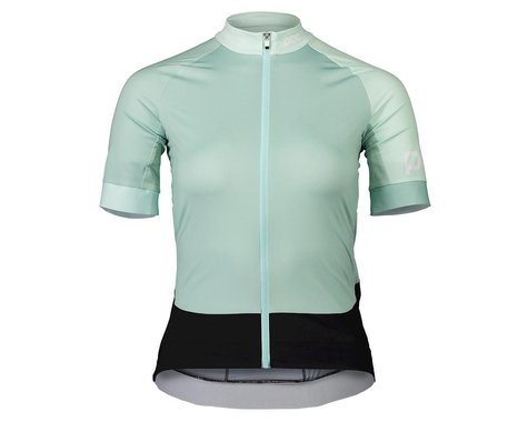 POC Women's Essential Road Short Sleeve Jersey (Apophyllite Multi Green) (XL)
