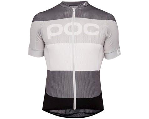 Poc Essential Road Men's Short Sleeve Jersey (Steel Multi Gray) (M)
