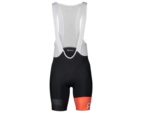 POC Essential Road VPDS Bib Shorts (Uranium Black/Hydrogen White) (M)