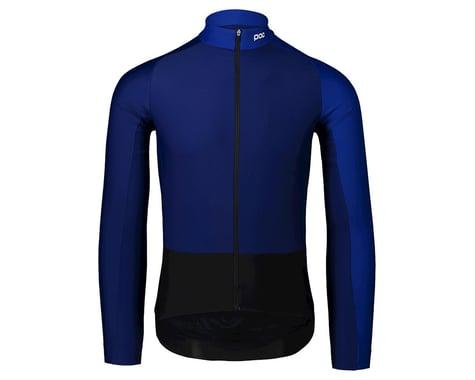 Poc Essential Road Mid Long Sleeve Jersey (Azurite Multi Blue) (XL)