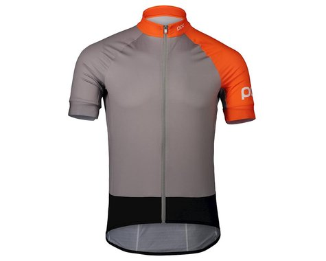 Poc Essential Short Sleeve Jersey (Granite Grey/Zink Orange)