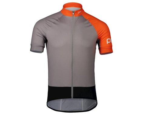 Poc Essential Road Jersey (Granite Grey/Zink Orange) (S)