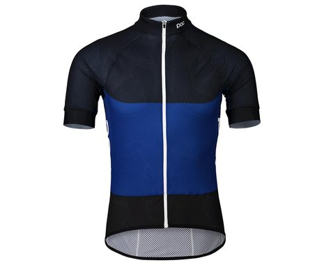 POC Essential Road Light Short Sleeve Jersey (Azurite Multi Blue) (S)