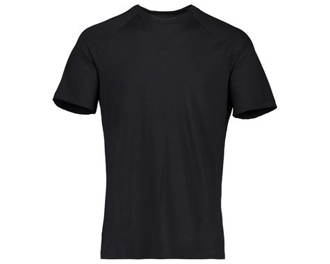 POC Men's Light Merino Tee (Uranium Black) (XL)