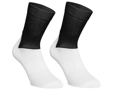 POC Essential Road Sock (Uranium Black/Hydrogen White) (M)
