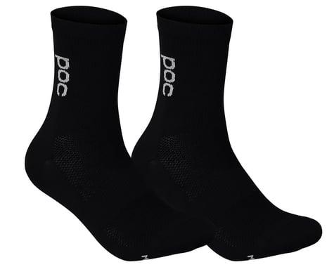 POC Soleus Lite Long Sock (Uranium Black) (L)