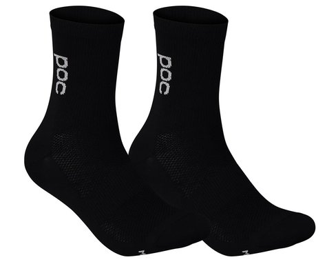 POC Soleus Lite Long Sock (Uranium Black) (M)