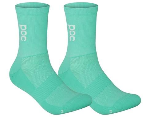 POC Soleus Lite Long Sock (Fluorite Green) (L)