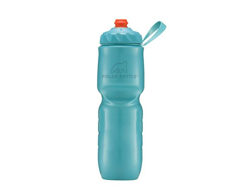 Polar Bottle ZipStream Color Series Water Bottle (Aqua) (24oz)