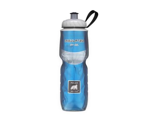 Polar Bottle Insulated Sport Water Bottle (Chevron Red) (24oz)