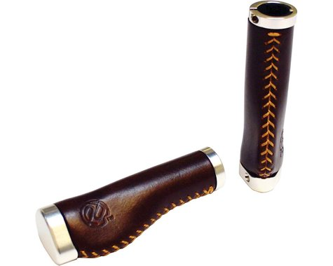 Portland Design Works PDW Whiskey Grips - Brown, Lock-On