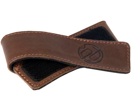 Portland Design Works Cuff Link Leather Leg Band (Brown)