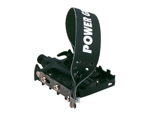 Power Grips MTB Pedals (Black) (w/ Strap)