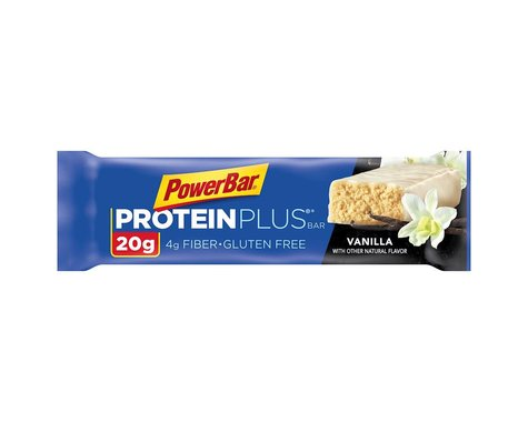 PowerBar Protein Plus Bar: Vanilla, Box of 15
