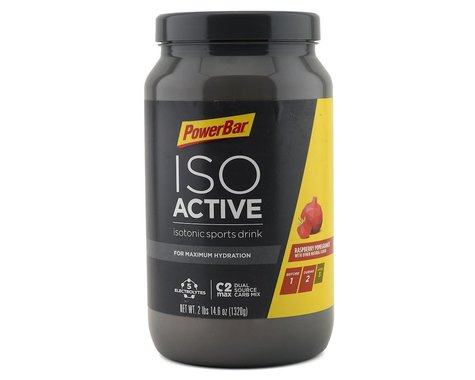 Powerbar IsoActive (Raspberry Pomegranate) (1 Canister)