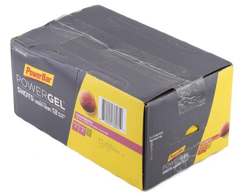 Powerbar PowerGel Shots (Raspberry) (24 2.12oz Packets)