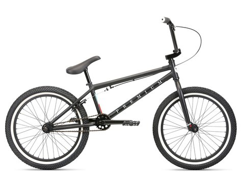 "SCRATCH & DENT: Premium 2020 Stray BMX Bike (20.5"" Toptube) (Matte Black)"