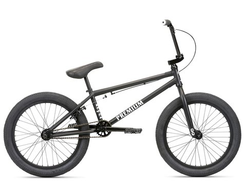 "Premium 2020 Subway BMX Bike (21"" Toptube) (Matte Black)"