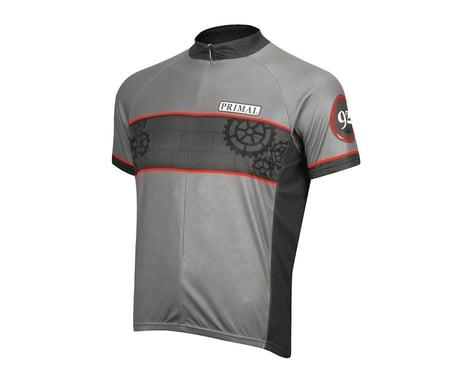 Primal Wear Pressure Short Sleeve Jersey (Grey)